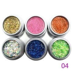 2014 Prefect Summer 9ml 6pcs/lot 6 Colors Glitter Gel UV Color Gel Shining Nail Polish Products Perfect Summer http://www.amazon.com/dp/B00J4B2HVQ/ref=cm_sw_r_pi_dp_DX8oub1GN5BJP