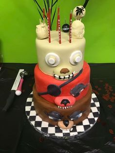 Five Night At Freddy S Cake Pans