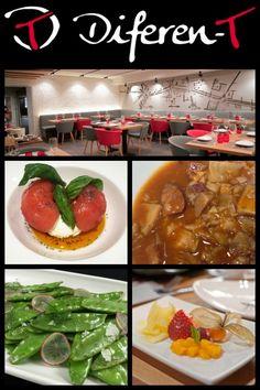 Restaurante Diferent Madrid cerca de cibeles y el ayuntamiento.  Ofrece comida saludable, también cuenta con opciones #singluten #sinlactosa y apta para veganos. Comida de temporada.