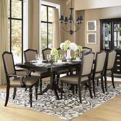 Donohoe Extendable Dining Table