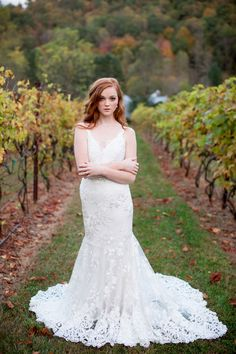Rustic Wedding Dress By Asheville Couture
