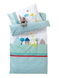 Tour de lit en liberty eloise rose et plumetis blanc d houssable tour de li - Housse de couette girafe ...