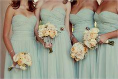 bridesmaids colors! :)