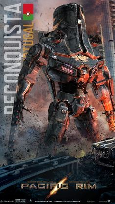 Fan Art for Pacific Rim: Reconquista-Portugal by ~GolDragonKing