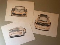 Porsche Original designs on original customization design - Porsche - 2017 - Catawiki Porsche Gt3, Porsche 2017, Branding Design, Congratulations, Brand Design, Identity Branding, Corporate Design