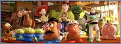 Toy Story 3 Facebook Cover