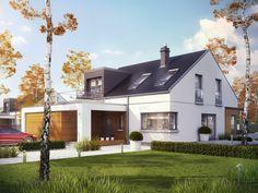 Projekt domu AC Edgar II G2 ENERGO PLUS - DOM AF7-40 - gotowy projekt domu