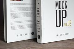Our new book cover psd mockup template is comprised of the front and backside view. You can choose to display both...