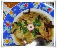 Gosia gotuje...: Sola z suszonymi grzybami i cebulą