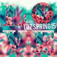 Primavera cheia de cores nas lojas com a coleção Spring15 da TDZ. Sinta-se bem, use Tendenza!