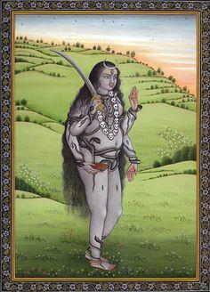 Bhairavi - the sixth Mahavidya