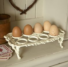 The most elegant egg holder I've ever seen!