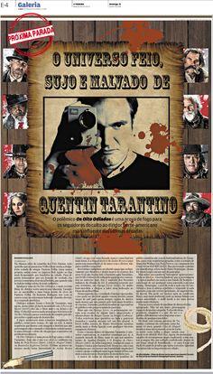 Novo filme de Quentin Tarantino, Os Oito Odiados.