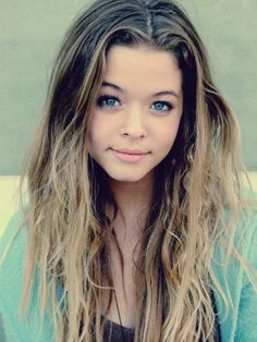 sasha pieterse /alison dilaurentis . Also the fact she is younger than by a year and she looks so much older is outrageous!