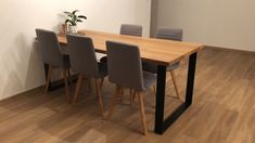 Dining Table, Loft, Furniture, Products, Home Decor, Summer Time, Decoration Home, Room Decor, Dinner Table