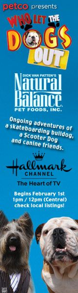 Watch us tomorrow! Tillman, and Norman Scooter for Who Let the Dogs Out, Fridays on Hallmark Channel.