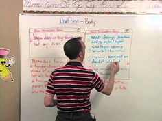 Essentials in Writing: Level 7 Video Sample In Writing, Research Paper, Essentials, Challenges, Change, Baseball Cards, Education, Onderwijs, Learning