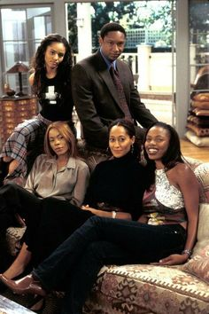 Black Actresses, Black Actors, Black Celebrities, Celebs, Black 90s Fashion, Style Fashion, Fashion Outfits, Girlfriends Tv, Black Sitcoms