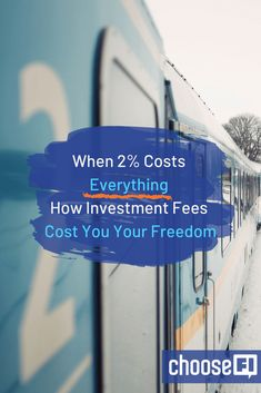 When Costs Everything: How Investment Fees Cost You Your Freedom Ways To Save Money, Money Saving Tips, Money Tips, Financial Guru, Living On A Budget, Your Freedom, Basic Math, Time Management Tips, Stock Market