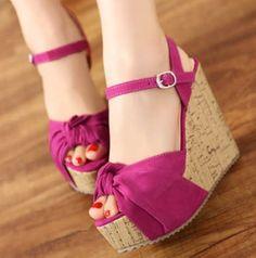 Pretty Pink for Pretty Feet..