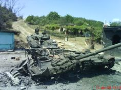 T-72AV 2008 South Ossetia War