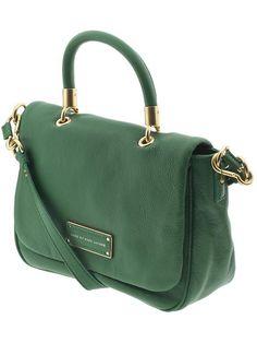 Green Marc Jacobs cross-body bag