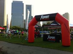 XSport Fitness Rock n' Roll Half Marathon Chicago - may have to get a bionic knee, but worth training for..