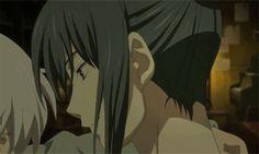 LGBT anime No.6 shion and nezumi dancing
