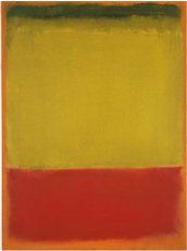 Mark Rothko, 'Sin título' (1949). 81 x 60 cm.