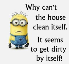 The kids do it.... they can clean it....