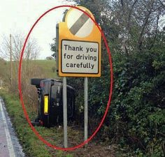 Funny Pictures - Driving Carefully   A Collection of Clean Jokes/Humor