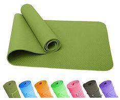 Good Times Yogamatte, rutschfest, TPE, umweltfreundlich, hypoallergen, hautfreundlich, SGS geprüft, Gymnastikmatte, Fitnessmatte, Sportmatte, Bodenmatte mit Tasche & Trageband, 183x61x0,8cm  Good Times  (163)  Neu kaufen: EUR 48,98 - EUR 59,99 EUR 27,97 - EUR 27,99  (In der Meistgewünschte Artikel in Yoga -Liste finden Sie maßgebliche Informationen über die aktuelle Rangposition dieses Produkts.) Sport Matte, Yoga, Sunglasses Case, Dreams, Top, Bags, Yoga Tips