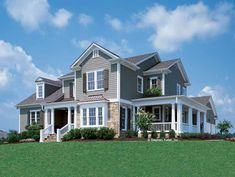 Country House Plan with 2845 Square Feet and 4 Bedrooms from Dream Home Source   House Plan Code DHSW42657