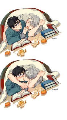 Yuuri and Victor