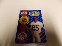 1991 ALL WORLD CANADIAN FOOTBALL FACTORY 110 CARD SET ROCKET ISMAIL    110 CARD COMPLETE SET     $3.95