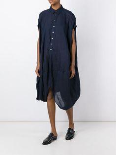 Junya Watanabe Comme Des Garçons asymmetric shirt dress