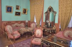 The Drawing room of Henry II at the Yusupov Palace