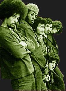 "Michael Carrabello, Dave Brown, Jose ""Chepito"" Arias, Carlos Santana, Gregg Rolie, Michael Shrieve this was Santana 1969..."
