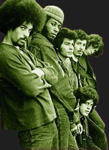 "Michael Carrabello, Dave Brown, Jose ""Chepito"" Arias, Carlos Santana, Gregg Rolie, Michael Shrieve this was Santana 1969..."