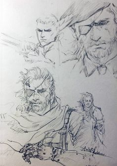 Let the Legend come back to life. I'm still in a dream,snake eater. - credit to arielrothbart.tumblr.com