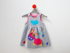 Jumpers & Sweatshirts – Baby Unicorn Girl's Jumper Dress.   – a unique product by Loutik on DaWanda