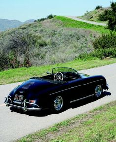 Evan Klein /McQueen's Machines Porsche's iconic Speedster looks particularly good from this angle. Its roundish, organic shape can still be...