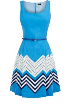 chevron stripe dress -- Adorable#Repin By:Pinterest++ for iPad#