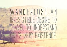 Learn to understand yourself in silence. If you must travel the world do it for fun!!