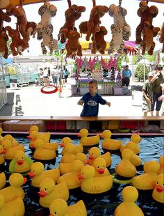 The El Dorado County Fair has TONS of carnival games. Come play with us!