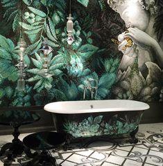 Amazing wall mural by The Art Mosaic Company . Mosaic Artwork, Mosaic Wall Art, Mosaic Tiles, Mosaic Company, Sicis Mosaic, Architecture Concept Drawings, Mosaic Bathroom, Small Bathroom, Tadelakt