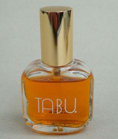 Vintage Dana TABU eau de cologne Spray Carnal Scent