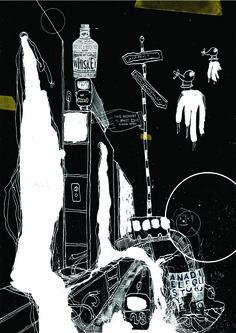 17 / Natalia Lombardo / Ciudades / from: La vuelta al mes en 30 ilustradores