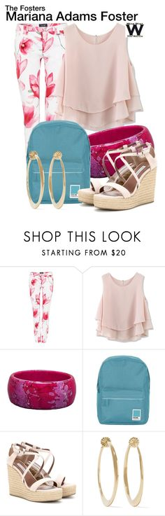 """""""The Fosters"""" by wearwhatyouwatch ❤ liked on Polyvore featuring Armani Jeans, Chicwish, Pantone, Tabitha Simmons, Ippolita, women's clothing, women, female, woman and misses"""