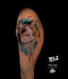 flower tattoo,girl tattoo,tattoo mädchen,girly tattoo,watercolor tattoo,tattoo watercolor,watercolor tattoo,wasserfarben tattoo,aquarell cat,katze tattoo,tattoo vorlage,tattoo vorlage girl,aquarell tatoo,ted bartnik,surf-ink-tattoo,ted2,watercolour tattoo,mädchen arm tattoo,arm tattoo,tattoo.cat tattoo,cat Arm Tattoo, Tattoo Cat, Victor Hugo, Girly, Watercolor Tattoo, Watercolour, Facebook Sign Up, Ink, Tiger